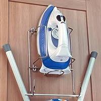 Handles & Ironmongery Soporte para colgar plancha y tabla de planchar (montaje en pared o armario)