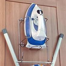 Handles & Ironmongery - Soporte para colgar plancha y tabla de planchar (montaje en pared o armario)