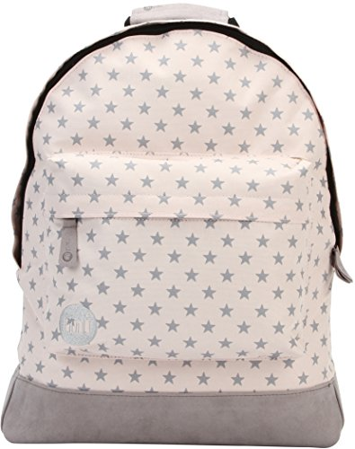 Mi-Pac All Stars Backpack Mochila Tipo Casual, 41 cm, 17 Litros, Peach/Grey