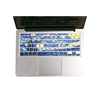 """Herngee Starry Night by Van Gogh Macbook keyboard Cover for MacBook Air 13"""" MacBook Pro 13"""" 15"""" 17"""" (with or without Retina Display) and iMac Wireless Keyboard"""