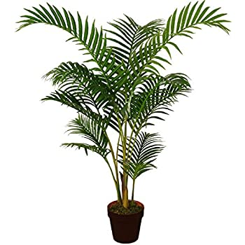 Best Artificial 120cm 4ft Areca Palm Tree Tropical Office ...