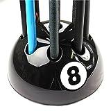 Original giant Schwarz 8 Ball Queue Ständer & Gepäckträger - Halter bis zu 9 Stichwörter