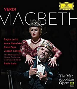 Anna Netrebko : Macbeth [Blu-ray]