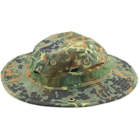 Outdoor Casual da combattimento, esercito, stile militare, in Ripstop, Bush-Cappello