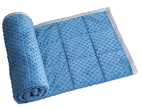 Daverose Schwere Decke Kinder 5.4 kg 122 * 183cm Weighted Blanket Therapie Decke Kinder ZLT-BG122-1 - Therapie-decke