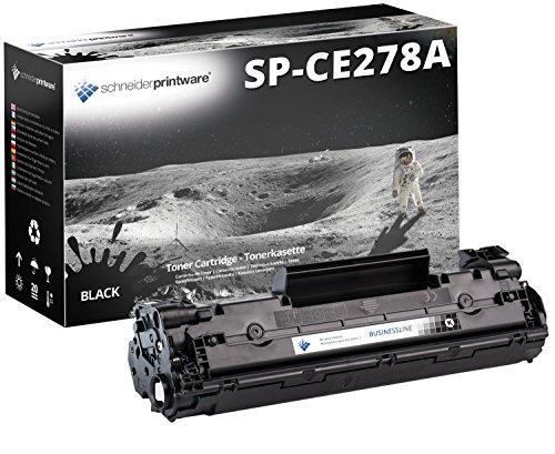 Schneider Printware kompatibel Toner    40% höhere Leistung   nach ( ISO-Norm 19752 ) ersetzt CE278A kompatibel zu HP Laserjet P1560 P1566 P1600 P1601 P1602 P1603 P1604 P1605 P1606DN Laserjet pro M1536DNF M1537dnf M1538dnf - Hp Ce278a Kompatibel Toner