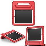 MoKo Hülle für iPad 2/3 / 4 - Superleicht Eva Kids Shock Proof Cover Stoßfest Kindgerechte Schutzhülle für Apple iPad 2/3 / 4 9.7 Zoll Tablet-PC, Rot