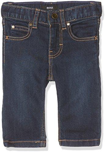 BOSS Baby Jungen Schneehose Pantalon Denim, Bleu (Stone Pousse), 9-12 (Hersteller Größe: 09 Monate)