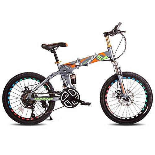 XQ TY-1001 Kinderfahrräder 8-16 Jahre alt Junge Mädchen High-Carbon-Stahl Kinder Bike Stabile Variable Geschwindigkeit Stoßfest faltbare Klavierlack (Jahre Altes Fahrrad 9)