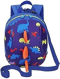 Preisvergleich für Alxcio Kinder Rucksack Schulrucksack Dinosaurier Spielzeug für Taschen Mädchen Jungen Kleinkinder, Blau