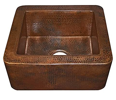 Cabana Prep or Bar Sink in Antique Copper