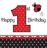 Creative Marienkäfer Party 16 Servietten 1. Geburtstag