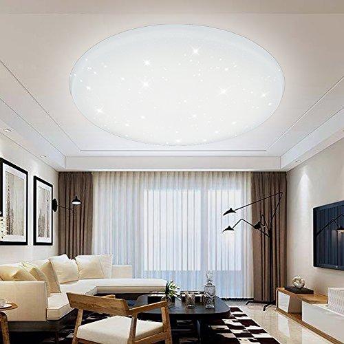 LED Deckenleuchte 12W-60W Deckenlampe Sternenhimmel Wandlampe Wohnzimmer IP44