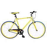 Royal London Vélo 1 seule vitesse fixie, jaune