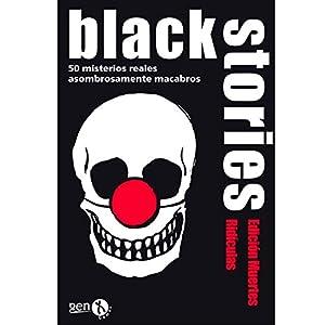 Black Stories – Muertes Ridículas, Juego de Mesa (Gen-X Games GEN028)