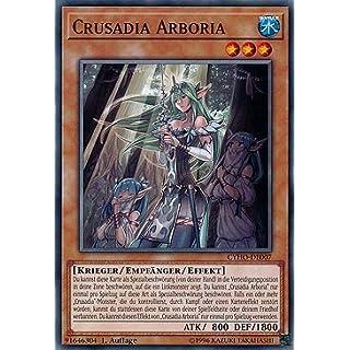 Crusadia Arboria - CYHO-DE007 - Yu-Gi-Oh - Deutsch - 1. Auflage - NIFAERA Spielwaren