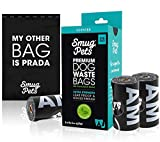 SmugPets 315 Premium Biodegradable Dog Waste Bags - Scented - Extra Large Leak Proof Poop Bags