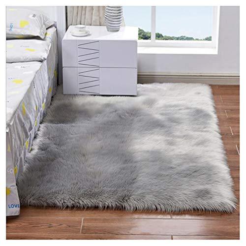 Imitazione pelle di pecora tappeto 80 x 150 cm imitazione lana ...