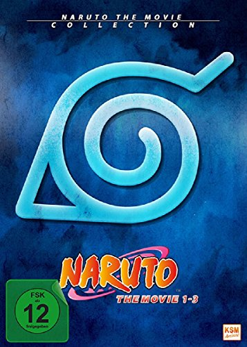 Naruto Shippuden - The Movie Collection - Movie 1-3 [3 DVDs] (Movie Shippuden The Naruto)