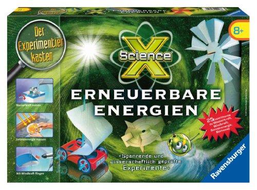 Ravensburger 18871 - ScienceX - Erneuerbare Energie - Experimente