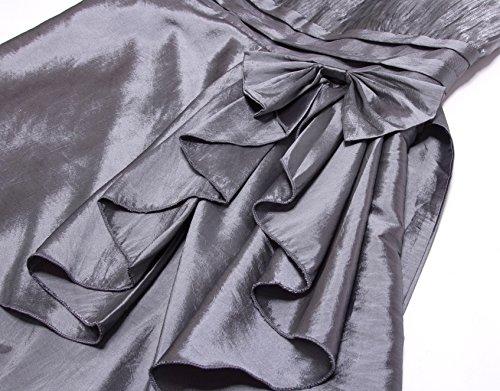 Zarlena Cocktailkleid Abendkleid Ballkleid Abiballkleid in mehreren Größen und Farben Grau