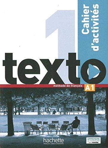 texto 1: méthode de français / Arbeitsbuch mit Audio-CD und Lösungsheft (totem)