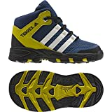adidas AX2 Mid I, Stivali da Escursionismo Unisex - Bambini, Blu (Azumis/Blatiz/Azubas), 17 EU