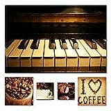 Lumière Eco Bundle sur toile Wonderful Perfect Piano 60x 90cm pour...