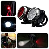 WFR Cyclists USB Rechargeable LED Bike Light Set - Best Reviews Guide