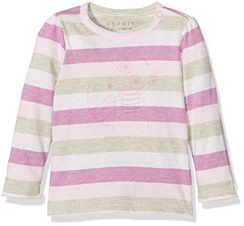 Esprit Kids Unisex Baby T-Shirt, Rosa (Pastel Pink 695), One size (Herstellergröße: 56)