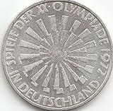 BRD (BR.Deutschland) Jägernr: a 401 1972 J vorzüglich Silber 10 DM Olympiade München (Münzen für Sammler)
