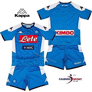 SSC Napoli Child Home Kit 2019/2020, Blue, 8 years
