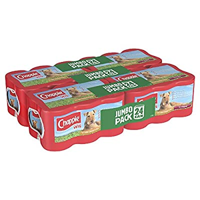 Chappie Dog Tins Favourites, 24 x 412 g