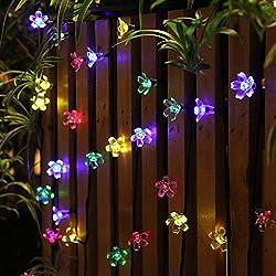 50 luces de la luz accionadas solar del LED, tiempo de trabajo largo y impermeable