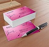 Beauty Visitenkarten - Online gestalten! Despri Design VK031, einseitig, 100 Stück
