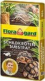 Floragard Schildkrötensubstrat 50l - natürliche Einstreu ohne Dünger - für Landschildkröten u. andere Reptilien - für Frühbeet, Überwinterung und für Terrarien
