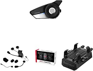 Sena 20s Evo 01 20s Evo Bluetooth Kommunikationssystem Sc A0315 Universal Helmklemmsatz Freewire 02 Bluetooth Cb Und Audioadapter Powerpro 01 Powerpro Handlebar Phone Mount Auto