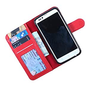 For Gionee Elife E8 - DooDa Quality PU Leather Flip Wallet Case Cover With Magnetic Closure, Card & Cash Pockets