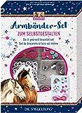 Pferdefreunde Giocattoli Gioielli Bigiotteria Bambini Kit per Creare Gioielli Serie Amici dei Cavalli