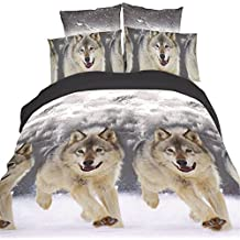 couette le loup. Black Bedroom Furniture Sets. Home Design Ideas
