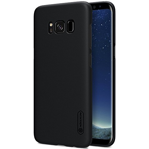 Nillkin Super Frosted Shield Slim Fit Back Case Cover for Samsung Galaxy S8 Plus with Nillkin Screen protector – Black
