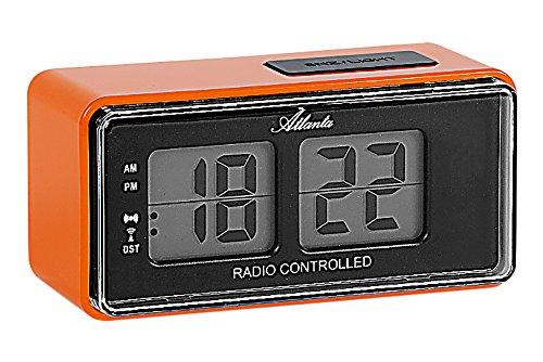 Atlanta Despertador Digital LCD Flip Radio Controlled