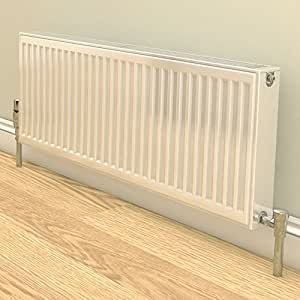 600 High x 500mm Stelrad White Compact Radiator P+ Double panel & Single Convector by Stelrad