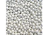 Comestibles 85 g Blanc - 4 mm-Billes Micro perles pépites à dragées X10 Motif décorations de gâteaux d'anniversaire Thème Saint-Valentin fête des mères, Pâques Motif La Reine des neiges de Disney