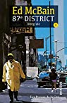 87e district, tome 1 par McBain