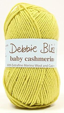 Debbie Bliss Baby Cashmerino Strickgarn, 50g Acid Yellow 91