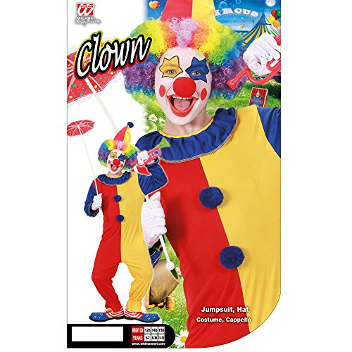 Imagen de widman  disfraz de payaso de circo infantil, talla 11  13 años alternativa