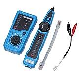 AOOPOO Kabeltester Netzwerk Wire Tracker Kabelfinder Line Finder für Telefonkabel,LAN-Kabel,Leitungsdetektor