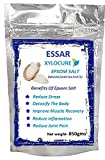 #7: XYLOCURE EPSOM BATH SALT (850 gms) for body pain relief, body relaxation,heel pain relief with Peppermint Essential Oils