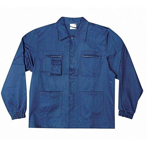 Chaqueta de Trabajo de algodón Massaua Azul, Azul